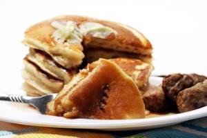 Short Order Buttermilk Pancakes