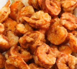 Beer-Batter Fried Shrimp